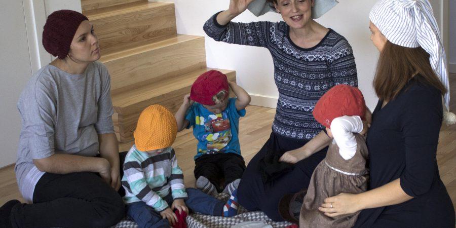 Vaikams smagu, kai mamos nebijo būti juokingos.